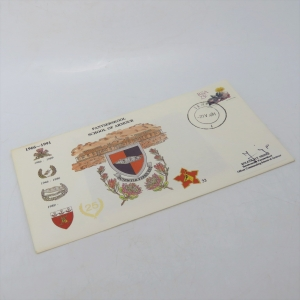 First day cover - 25 Years School of Armour - Cancelled in Tempe - Signed by col HT Heinze