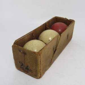 Antique Carom Billiards ball set