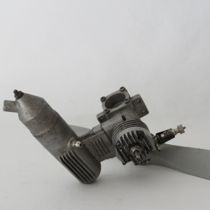 OS MAX 10 vintage model airplane engine with prop