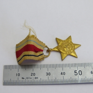 WW2 The Africa Star miniature medal