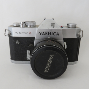 Yashica TL Electro X SLR camera - Late 60's with Yashinon 50 mm 1:1.7 fast lens - This was Yashica's most successful camera
